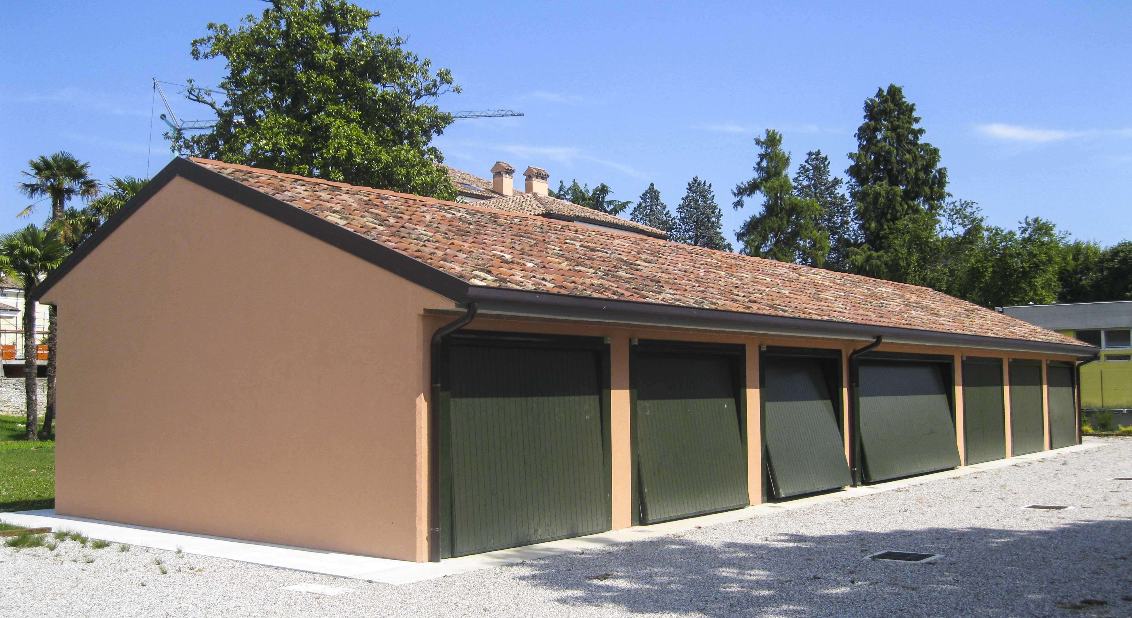 Garage-a-schiera